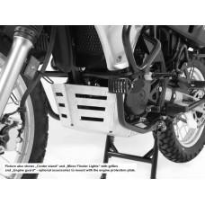 KLR 650 2008- Kawasaki Sabot moteur en Alu