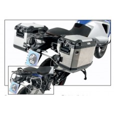 "1090 ADVENTURE  2017- KTM ensemble de 2 panniers Hepco becker Xplorer ""Cut-Out"" avec supports en INOX"