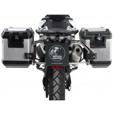 """790 ADVENTURE / R 2019-2020 KTM ensemble de 2 panniers Hepco becker Xplorer """"Cut-Out"""" avec supports en INOX"""
