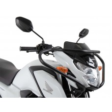 CB 125 F 2021- Honda protection guidon auto-moto ecole en noir