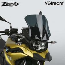 """F 750 GS 2019- BMW Bulle Vstream """"sport"""" de Ztechnik Z2381 en Fumé: Dimensions H 33.3 X L 34.3 CM"""
