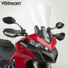 MULTISTRADA 950 1200 1260 DUCATI BULLE VSTREAM TALL-TOURING N20505 Dimensions: Hauteur 57.1 X 37.5 CM en transparente