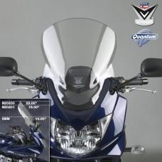 GSF 650 S '05-'08/ GSF 1200 S '06/ GSF 1250 S '07-'11 Bandit Suzuki : Bulle Vstream de National Cycle N20201 en fumé legerement