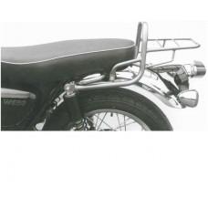 W 650 et W 800 Kawasaki 2011-2018 Support top-case ou porte bagage - porte paquets  en chrome
