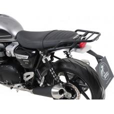 Speed Twin 2019-2020 Triumph : support top-case porte bagage - porte paquets en noir