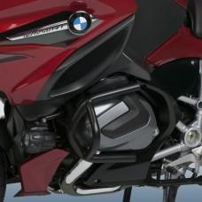 """R 1250 R et RS 2019-2020 BMW Pare cylindres - pare carters de Ztechnik Z7106-002 en Noir """"E-Coated"""""""