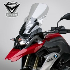 "R 1200 GS LC 2013- + Adventure 2014- et Rally-Excecutive de 2017- BMW bulle Vstream ""Touring"" Z2487 H 49.5 X,L 38.7 cm en transparant"