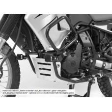 KLR 650 2008- Kawasaki pare carters en noir