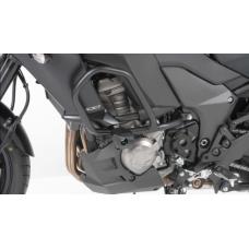 Versys 1000 2015-2019 Kawasaki pare carters noir