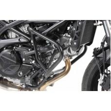 SV 650 2016- Suzuki pare carters paire en noir