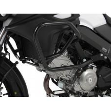 DL 650 V-strom 2012- Suzuki pare carter-protection en noir.