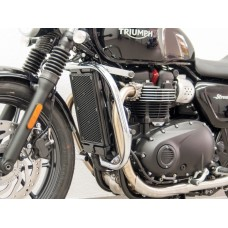 Street Twin (74G) 2016-2018 TRIUMPH pare carters en chrome