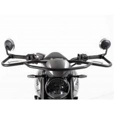 TRIDENT 660 2021- Triumph protection avant-guidon auto-moto école en noir