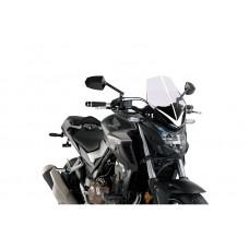 """CB 500 F 2019-2020 HONDA Saute vent """"NAKED-BIKE""""  3657H en legerement fumé"""