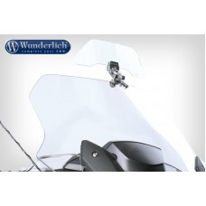 Deflecteur bulle moto sans percecage Vario-Ergo transparent