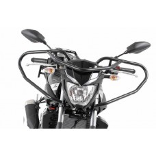 MT 03 Yamaha protection guidon moto école