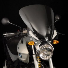 "R 1200 R 2006-2007-2008-2009-2010 BMW pare brise V-stream ""HAUTE"" Z2409 dimensions: H 54.6 X L 53.3 cm incl.fixations."