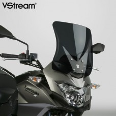 "VERSYS X 300 2018- Kawasaki : Bulle Vstream ""Sport"" N 20124 : H 34.6 X L 33.6 CM en Fumé"