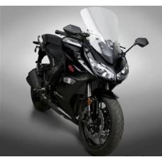 """Z1000SX 2011-2016 Kawasaki: Bulle en lexan National Cycle """"Touring"""" N 20107 : H 56.8 X L 43.2 CM"""
