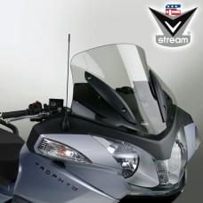 """Trophy/SE 1200 2013- Triumph : Bulle en Lexan"""" de National cycle """"sport"""" N20606 H 44.7 X L 59 CM fumé clair"""