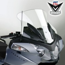 """Trophy/SE 1200 2013- Triumph : Bulle en Lexan"""" de National cycle-ztechnik """"sport-touring """" N20607 H 53.3 X L 62.8 CM clair"""
