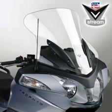 """Trophy/SE 1200 2013- Triumph : Bulle en Lexan"""" de National cycle-ztechnik """"touring """" N20608 H 61 X L 62.8 CM clair"""