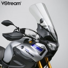 """XT1200Z Super Ténéré 1200 Yamaha de 2014- Bulle National cycle N20321 """"Touring"""" transparent en Hauteur de 60.9cm et largeur de 43.5 cm"""
