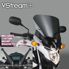 """CB 500 F 2013- Honda : Bulle Vstream de National Cycle """"sport"""" N20054 : H 40.6X L 40.6 CM INCLUS le kit de fixations"""