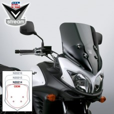 "DL 650 2012-2016 Suzuki : Bulle Vstream de National Cycle ""Sport"" N20214 : H 48 X L 45 CM"