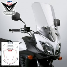 "DL 650 2012-2016 Suzuki : Bulle Vstream de National Cycle ""Touring"" N20216"