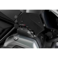 R 1200 GS LC 2013-2018 BMW CHAPEAU DE BUSE (paire) POUR BMW en noir mat