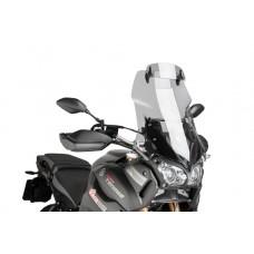 XT 1200 Z TENERE 2014- YAMAHA BULLE de PUIG incl deflecteur: 7600H Dim:H 600 X L 465 mm (hors deflecteur)