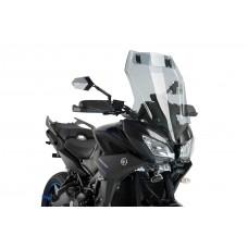 MT 09 TRACER/GT 2018- YAMAHA BULLE de PUIG incl deflecteur: 9726H Dim:H 645 X L 445 mm (hors deflecteur)