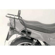 V 65 Lario Moto Guzzi porte paquets porte bagage hepco becker ou support top case en noir