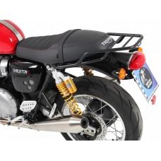 Thruxton 1200 / R 1200 2016- Triumph : support topcase porte bagage - porte paquets en noir