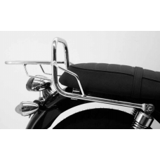 BONNEVILLE / T100 Triumph support top-case porte bagage en chrome