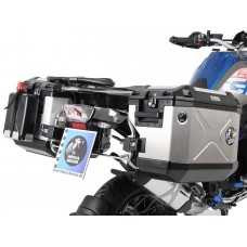 "R 1200 GS LC 2013- BMW; Ensemble de 2 panniers Xplorer ""Cut-Out"" avec supports en INOX"