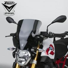 """R 1200 R LC 2015- BMW Pare brise ou bulle Vstream """"sport"""" Z2353 Dimensions H.40 X L 43.8 CM incl les fixations"""