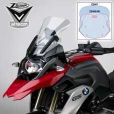 "R 1200 GS LC 2013- + Adventure 2014- et Rally-Excecutive de 2017- BMW bulle Vstream ""sport"" Z2486 H 39.3 X,L 32.2 cm en transparant"