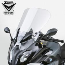 """R 1200 RS / R 1250 RS 2015-2016-2017-2018-2019 BMW Bulle """"Touring"""" VSTREAM de Ztechnik Z2375 dimensions:H 55.9 cm X L 48.2 cm.Transparent"""