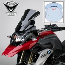 "R 1200 GS LC 2013- + Adventure 2014- et Rally-Excecutive de 2017- BMW bulle Vstream ""sport"" Z2485 H 39.3 X,L 32.2 cm"