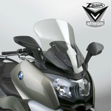 """C 650 GT 2012- BMW Bulle-pare brise-Vstream """" Sport """" de Ztechnik Z2494 en fumé legerement"""