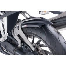 K 1200 R 2005-2008 / K 1200 S '04-'08 / K 1300 R/S 2009-2016 BMW Garde boue arrière en noir mat 5887j