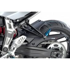 MT 07 2014- + XSR 700 2016- Yamaha garde boue arrière en noir mat