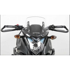 CB 500 X 2013 2015 Honda : Protection guidon moto ecole