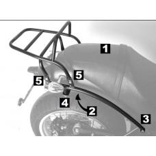 C 940 Bellagio / Aquila Nera Moto guzzi : Porte paquets porte bagage ou support top case en noir