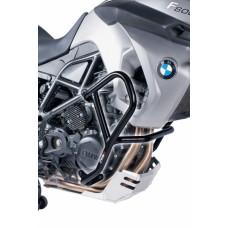 F 650 / 700 / 800 GS  2008-2012 BMW pare carter -cylindres en noir