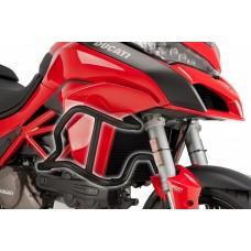 Multistrada 950 2017- 1200 S 2015 - Ducati pare cylindres-carter en noir