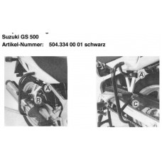 GS 500 E 2001-Suzuki protection arrière moto ecole
