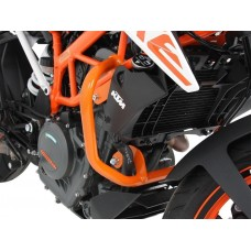 125 Duke KTM pare carter en orange